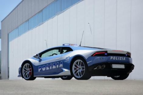 Полиция Италии получила в пользование 610-сильный суперкар. Фото 1