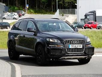 В Bentley начали испытания внедорожника под прикрытием Audi Q7