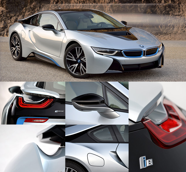 Первый тест футуристичного спорткара BMW i8. Фото 1