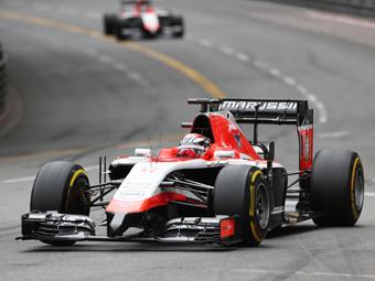 Команда Marussia заработала первые очки в Формуле-1