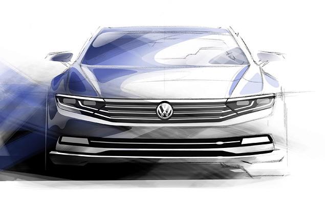 Собираем цельный образ нового VW Passat из того, что о нем рассказали