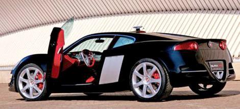 Прототип Jaguar BlackJag с мотором V10 выставили на продажу в Сети