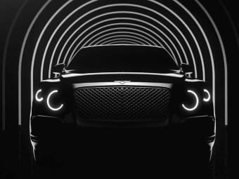 Компания Bentley показала очертания серийного внедорожника