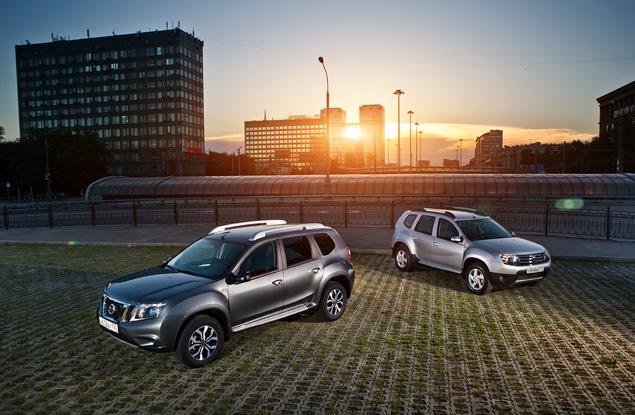 Пытаемся разглядеть отличия Nissan Terrano от Renault Duster. Фото 2