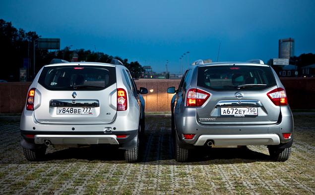 Пытаемся разглядеть отличия Nissan Terrano от Renault Duster. Фото 4