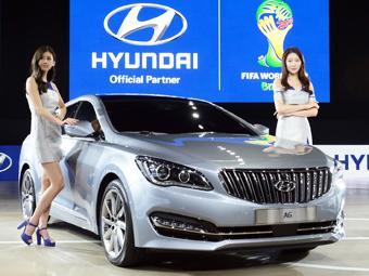 Hyundai заполнил нишу между Grandeur и Genesis новым седаном