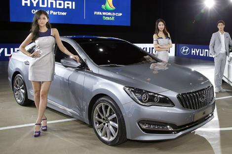 На моторшоу в Пусане дебютировал седан Hyundai AG