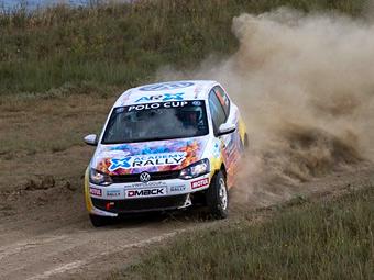 Алексей Игнатов выиграл третий этап VW Polo Cup подряд