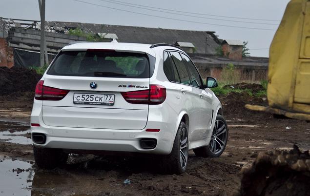 Длительный тест BMW X5 M50d: первые впечатления. Фото 1