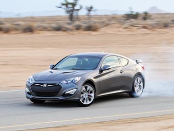 "Hyundai оставит купе Genesis без ""турбочетверки"""