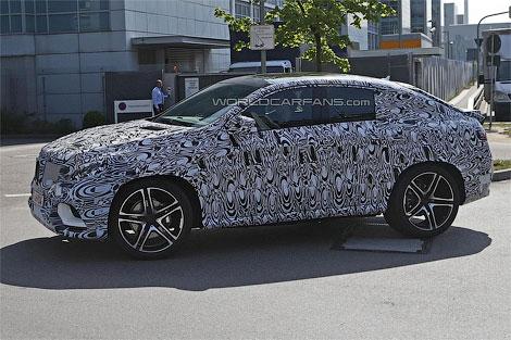 """Конкурент BMW X6 от """"Мерседеса"""" получит переднюю панель в стиле внедорожника ML. Фото 2"""