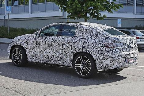"""Конкурент BMW X6 от """"Мерседеса"""" получит переднюю панель в стиле внедорожника ML. Фото 3"""