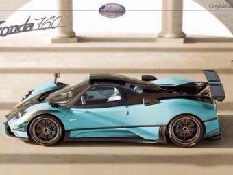 Pagani построит новую спецверсию суперкара Zonda