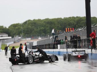 Пилоты Формулы-Е впервые протестировали болиды