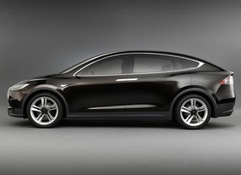Электрический внедорожник Tesla Model X появится в 2015 году