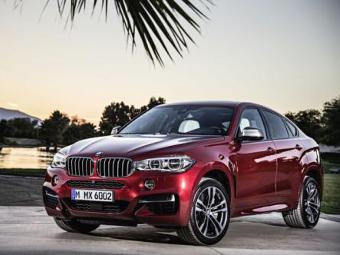 Компания BMW представила кроссовер X6 нового поколения