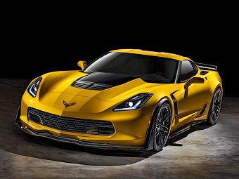 Chevrolet Corvette Z06 стал самой мощной моделью в истории GM