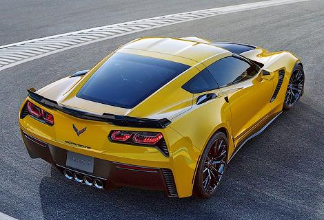 Компания Chevrolet добавила мощности суперкару Corvette Z06