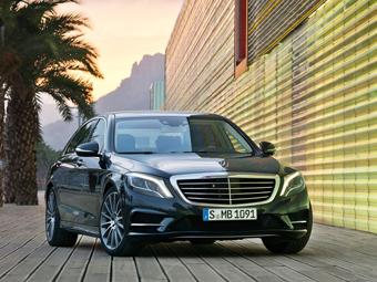 Сборку Mercedes-Benz S-Class наладят в России