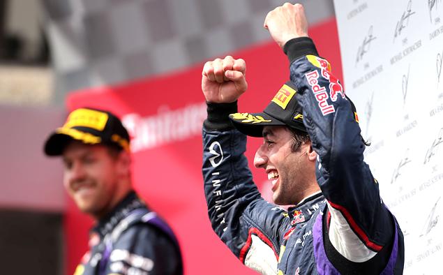 Дэниэл Риккардо принес Red Bull Racing первую победу в сезоне