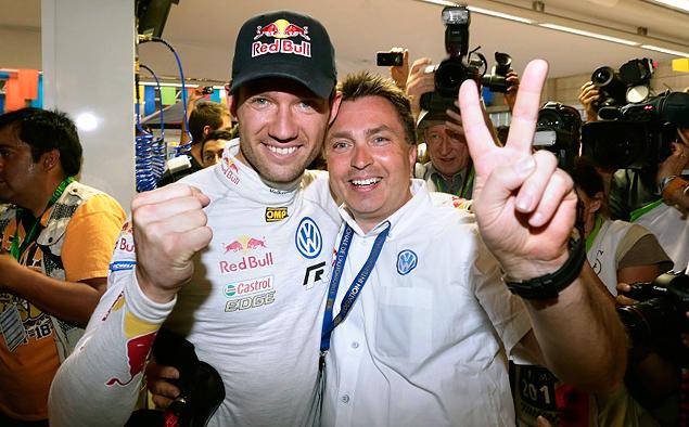 Себастьен Ожье был медленнее напарника, но все равно победил в Италии