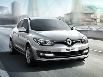 Стали известны рублевые цены на обновленный Renault Megane