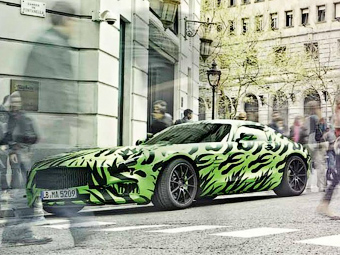 «Мерседес» поделился подробностями о конкуренте Porsche 911