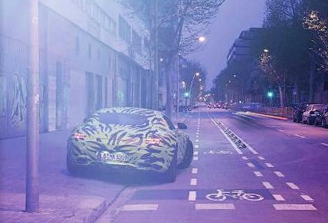 Немцы опубликовали новые тизеры суперкара AMG GT. Фото 2