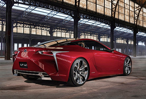 Серийная версия концепта LF-LC получит 482-сильный мотор V8