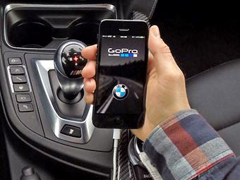 Автомобили BMW подружились с камерами GoPro