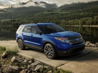 Компания Ford обновила внедорожник Explorer
