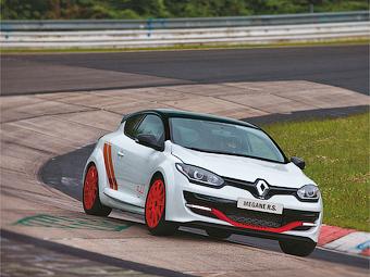 Renault Megane вновь стал быстрейшим переднеприводником Нюрбургринга