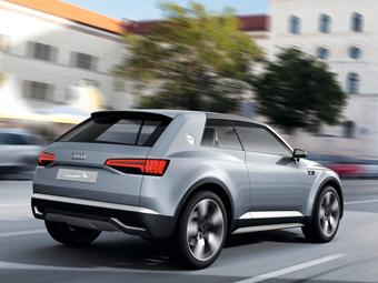 Самый маленький кроссовер Audi получит 300-сильный мотор