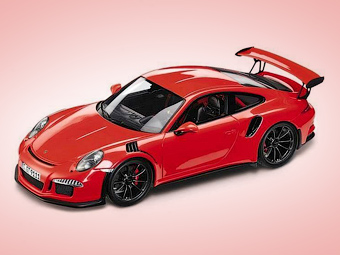 Дизайн самого быстрого Porsche 911 рассекретили на игрушечной машине