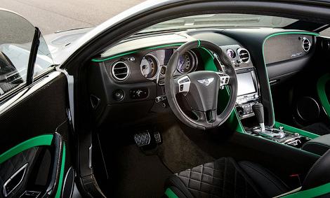 Компания Bentley построила гражданский вариант гоночного купе Continental. Фото 3