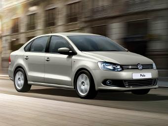 Volkswagen добавил седану Polo новую комплектацию