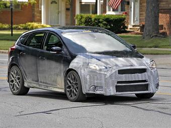 Ford изменил прототип нового хот-хэтча Focus RS