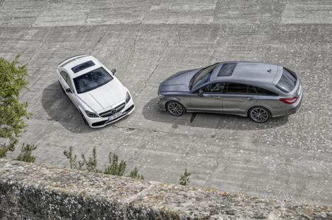 Компания Mercedes-Benz обновила семейство CLS