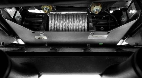 У внедорожника появились версия с лебедкой и защитой агрегатов