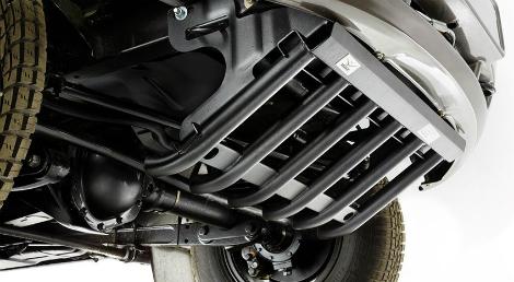 У внедорожника появились версия с лебедкой и защитой агрегатов. Фото 1