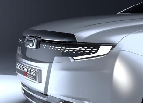 В Великобритании показали дизайн-макет премиального седана 2020 года. Фото 2