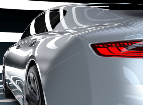 В Великобритании показали дизайн-макет премиального седана 2020 года. Фото 3