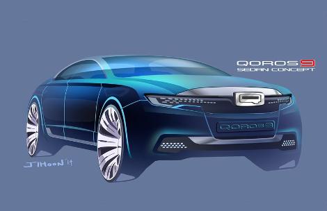 В Великобритании показали дизайн-макет премиального седана 2020 года. Фото 4