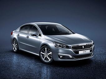 Новый Peugeot 508 обзавелся светодиодными фарами