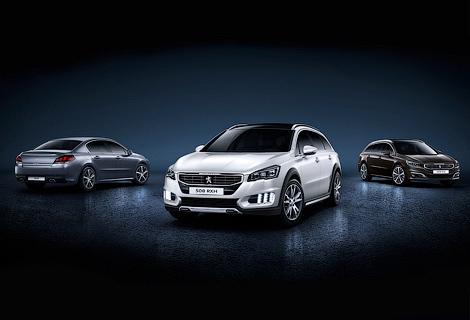 «Пежо» представит в Москве новое семейство Peugeot 508. Фото 5