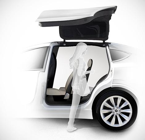 Американцы начнут продажи вседорожника Model X в 2015 году. Фото 1