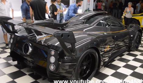Модель получила 760-сильный мотор и уникальные фары головного света