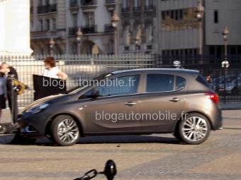 Внешность нового Opel Corsa рассекретили до премьеры