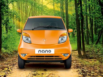 Tata Nano получит турбомотор и «автомат»