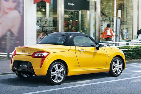 В Японии представлена возрожденная модель Copen. Фото 2